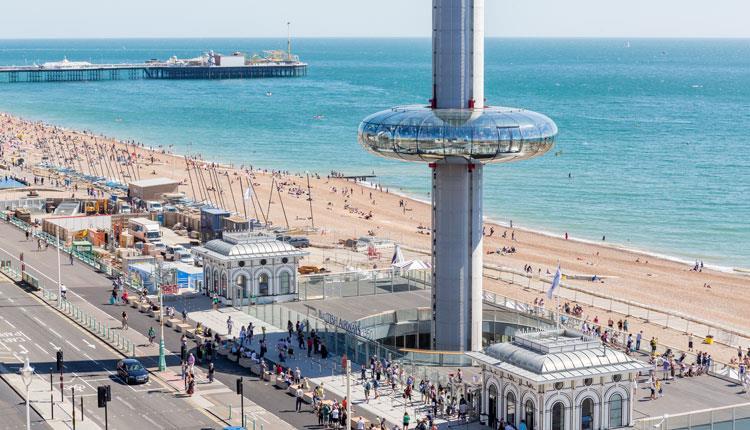 Intercâmbio em Brighton, a cidade litorânea mais cool do Reino Unido.